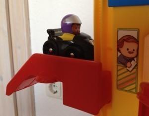 Little People Auto-Spielbahn - Fahrstuhl