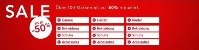 zalando Rabattaktion (c) zalando.de