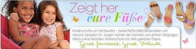 Kindersandalen (c) Screenshot vertbaudet.de