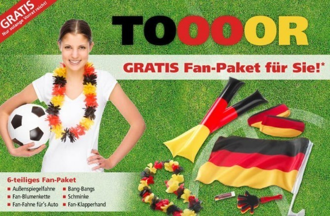 EM Fan Paket c neckermann.de  670x439 Gratis EM Fan Paket mit Neckermann Gutschein