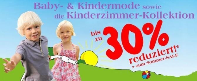 Sommer-Sale (c) Screenshot vertbaudet.de