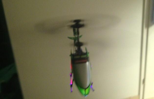Green Chopper - Helikopter von Carrera